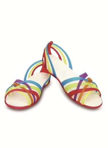 Crocs Huarache Flat Women Sandalet Renkli